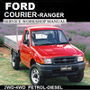 Thumbnail COURIER / RANGER 1998-2006 PD-PE-PG MODEL WORKSHOP MANU